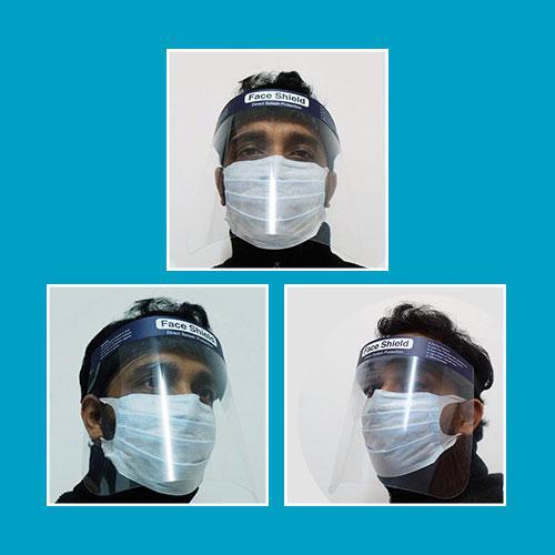 Dots Face Shield