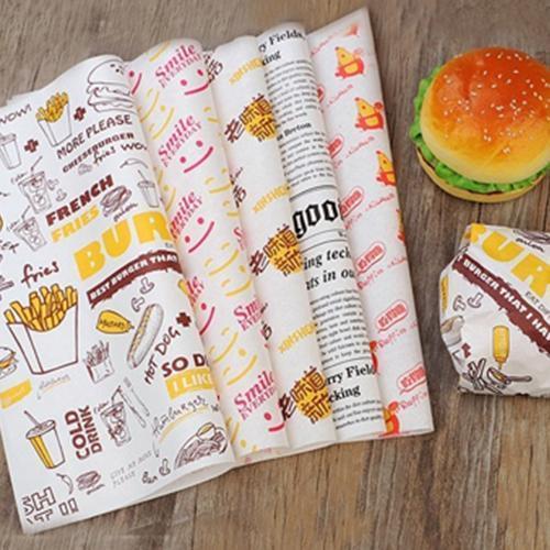 Hamburger / Wax Paper